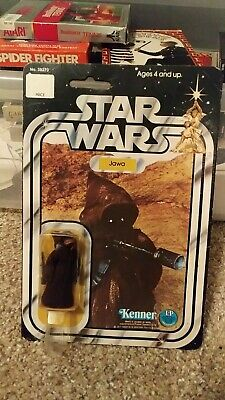 Vintage 1978 Kenner STAR WARS 20 Back JAWA ANH FREE SHIPPING