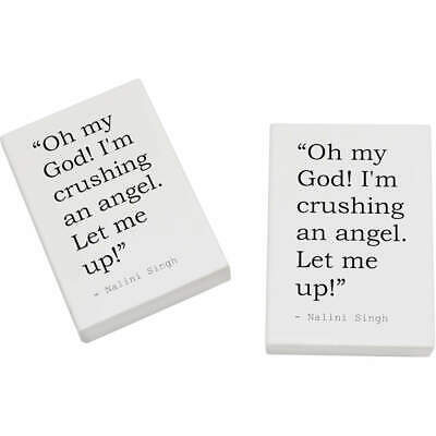 2 x 45mm Quote By Nalini Singh Erasers / Rubbers (ER00010485)
