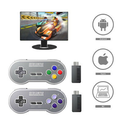 For 8Bitdo SF30 SN30 Pro Wireless Bluetooth Controller Classic Joystick Gamepad