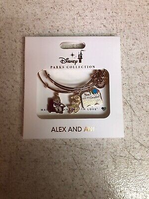 Disney Pixar Up You Are My Greatest Adventure Alex And Ani Bracelet Set NEW