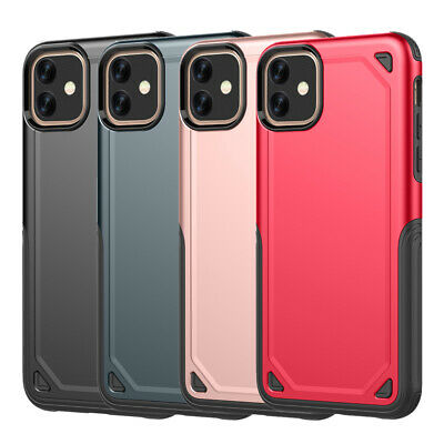 Hybrid Armour Cover Shockproof Heavy Duty Builder Case For iPhone11 Pro Max XR