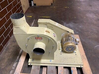 "Baldor Electric Motor With Rotary Blower 16"" 5hp 230/460V"