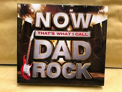 NOW That's What I Call DAD Rock 3CD NEW & Sealed WC4