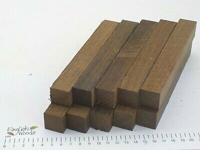 10 Wenge woodturning or wood carving pen blanks.  23 x 23 x 165mm.  3947A