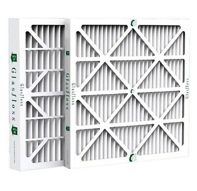 "2"" Inch Glasfloss ZL MERV 10 Pleated Air Filters for AC & Furnace.  3 Packs"