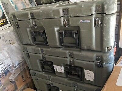 Pelican-Hardigg Medical Case Large Wheeled Military MedChest 472 33x21x12""
