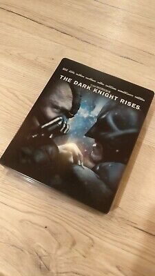 Steelbook - Batman The Dark Knight Rises - Blu ray