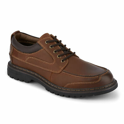 Dockers Mens Overton Leather Rugged Casual Lace-up Oxford Shoe with NeverWet