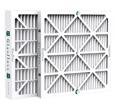 "2"" Inch Glasfloss ZL MERV 10 Pleated Air Filters for AC & Furnace.  Case of 12"