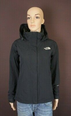 The North Face HYVENT JACKET WITH FLEECE 100% REAL COAT - SIZE SMALL 8 FEMALE