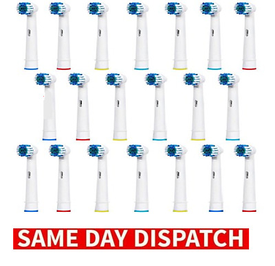 2/8 Electric Tooth brush Heads Replacement for Braun Oral B Vitality Precision