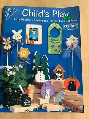 Tole Painting Instruction and Pattern Book Beginners Childs Crafts