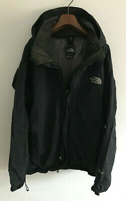 The North Face Coat/Jacket! Mens S/M 42-44 Chest! Black! Hyvent Waterproof!
