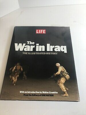 Life Hardcover The War In Iraq Editors Of One Nation V241