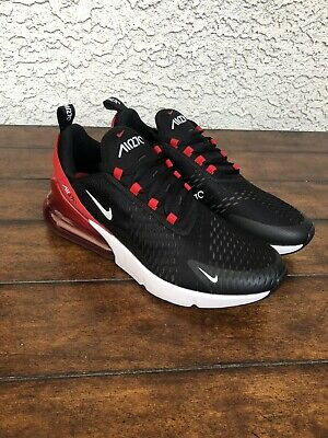 Nike Air Max 270 Bred Mens AH8050 022 Black Red White