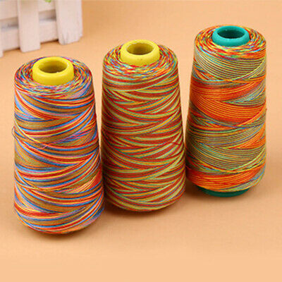 Multi-color Sewing Thread Polyester Cone Spool Roll for Serger Needle Machine 17