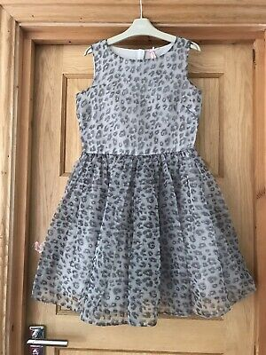 NEXT *12y GIRLS BEAUTIFUL Leopard Print Party DRESS AGE 12 YEARS