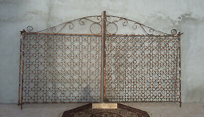 Gate Antique Forged Iron