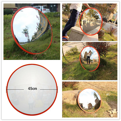 Blind Spot 180° Wide Angle Mirror Shop Security Curved Convex Driveway Traffic