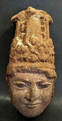 Ancient Khmer-Style Stone Bust - CAMBODIA - 12th/13th Century AD