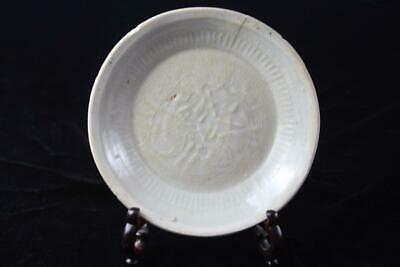 AUTHENTIC ANTIQUE CHINESE SONG DYNASTY Yaozhou CERAMIC DISH