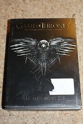 Game of Thrones: Season Four (DVD, 2015, 4-Disc Set) Fourth 4th GREAT Shape