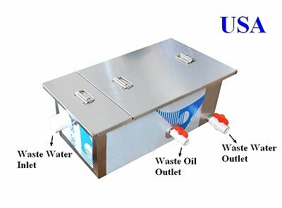 0.5T Commercial Grease Trap Kitchen Waste Filter #170492