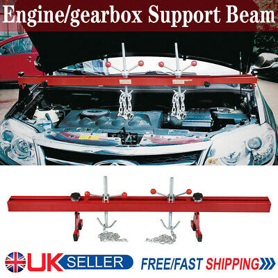 Engine support double beam bar stand motor traverse lifter chain gearbox 500kg