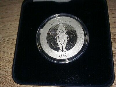 8 € Euro SILVER COLLECTOR COIN 2019  the Viljandi Hansa days ESTONIA