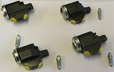 Set Of 4 Front Brake Wheel Cylinders Hillman Husky 1954-1957