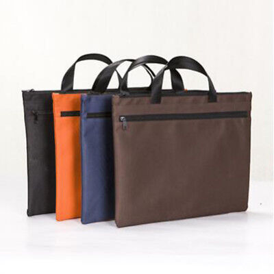 Durable Side Zipper File Folder Document Filing Bag Stationery Handbag one