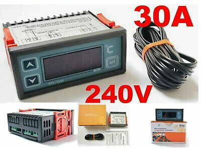 Fridge Temperature Thermostat Controllers 12V 240V 10A 30A Car Or Commercial