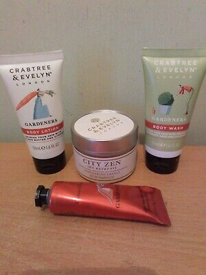 Crabtree And evelyn Gardeners Set Includes Hand Cream