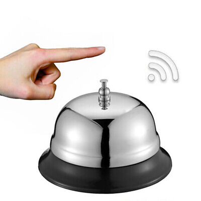 Hotel Counter Desk Bell Ring Metal Reception Restaurant Bar Service Call UK SELL