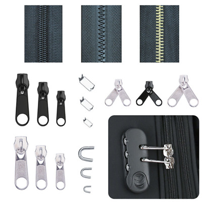 Replacement 84pcs Fix Zipper Zip Slider Rescue Instant Repair Kit/Install Pliers