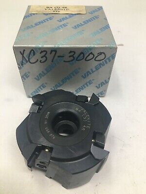 """New Valenite 3"""" Indexable Insert Face Milling Cutter, BA-3-4R"""