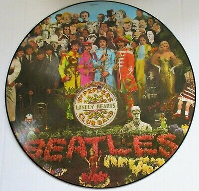 The Beatles Sgt.Peppers Lonely Hearts Club Band LP ICONIC PICTURE DISC 13 tracks