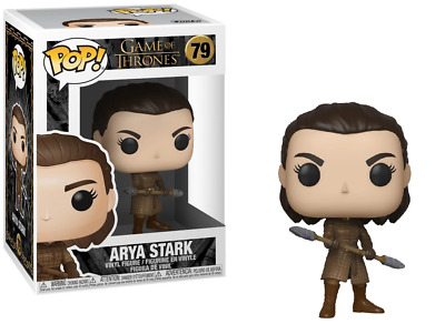 Game of Thrones #79 - Arya with Two Headed Spear - Funko Pop! (Brand New)