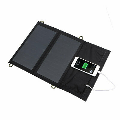 5 Days Offer 5V 14W Solar Panel Charger 2USB For IPhone5 6 Samsung S6 B