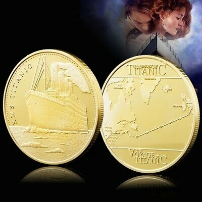 RMS Titanic 100th Anniversary 1912 Great Britain Travel Line Collectible Coin