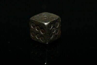 Beautiful Roman Legionary Silver Gaming Die Dice..