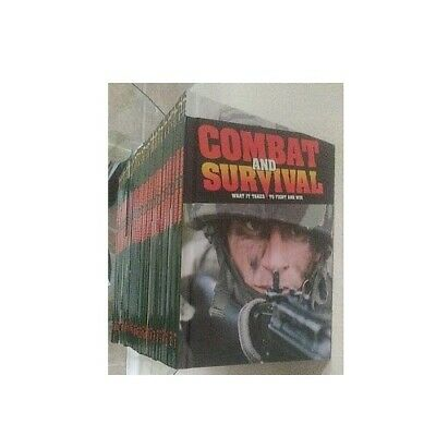 Combat And Survival Set (Lot) - What It Takes To Fight And Win 28 hardcover 1991