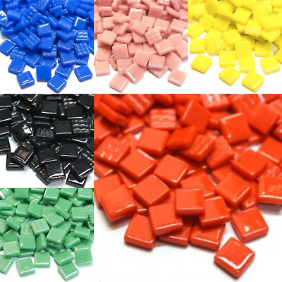12mm Standard Mosaic tiles for arts and crafts - Various Colours