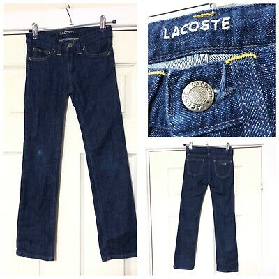 Lacoste Blue Jeans Boys Age 8 Years (A936)