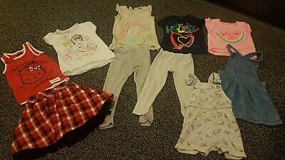 3 to 4 Year Old Girls Clothes Bundle