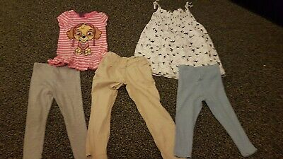 2 to 3 Year Old Girls Clothes Bundle