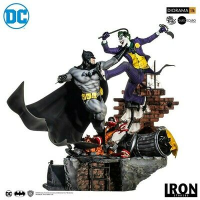 BATMAN VS JOKER BATTLE DIORAMA IVAN REIS de Iron studios preorder préco