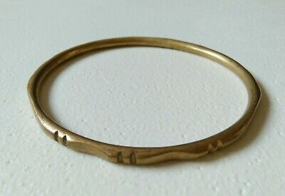 Rare Ancient Bracelet Bronze Viking Artifact Authentic Very Stunning