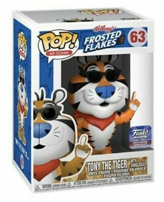 Funko Pop Hollywood Tony The Tiger Store Exclusive Ad Icon Limited Edition Rare