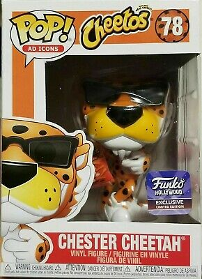 Funko Pop Hollywood Chester Cheetah Store Exclusive Ad Icon Limited Edition Rare